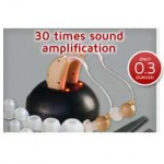 MSA 30X Hearing Aid Sound Amplifier